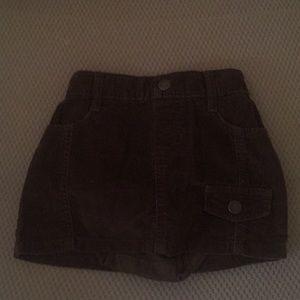 Toddler skirt.
